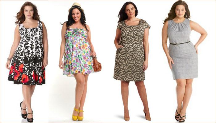 Стильна одежда для полных женщин фото