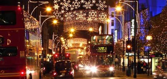Риждент Стрит перед Рождеством