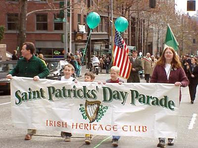Парад в День Святого Патрика