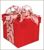 Как оформить подарок на день святого