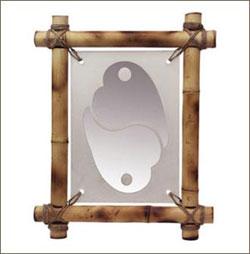 Рамка Фен-шуй с символом взаимной любви