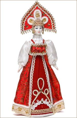 Украинский костюм своими руками для кукол