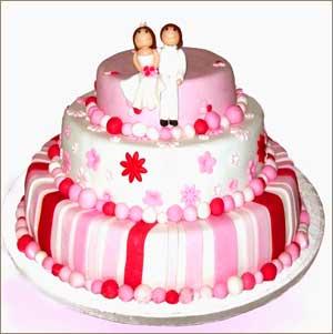 Разновидности свадебных тортов
